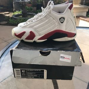 Shoes - Air Jordan 14 candy cane